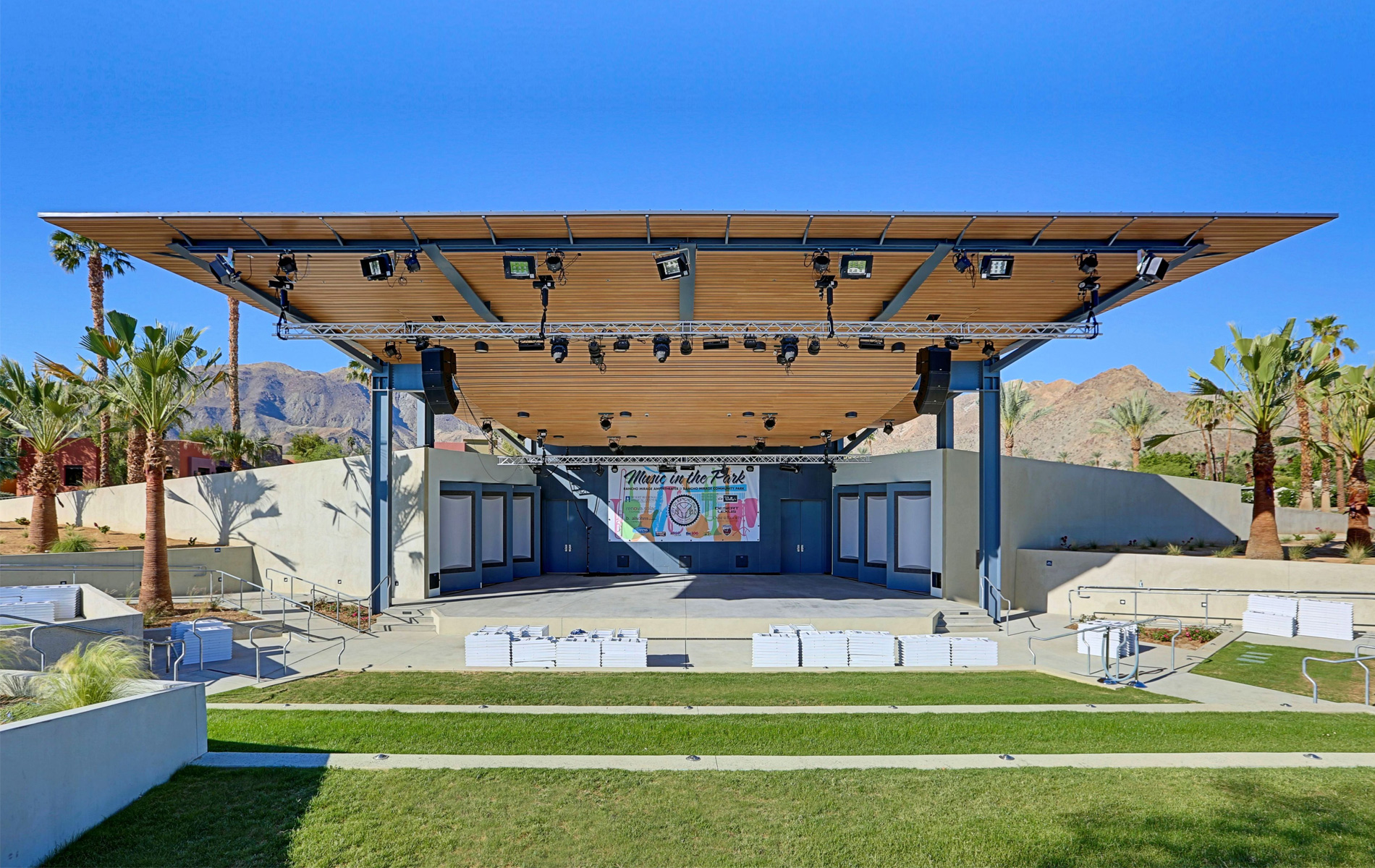 Rancho Mirage Amphitheater Architect